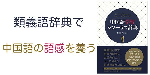 中国語の表現力が身につく本―『中国語学習シソーラス辞典』